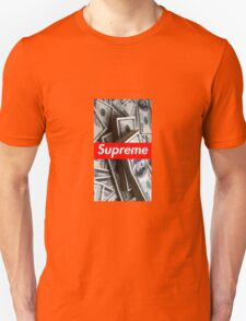 Money/Supreme Unisex T-Shirt