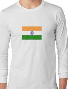 National Flag of India Long Sleeve T-Shirt