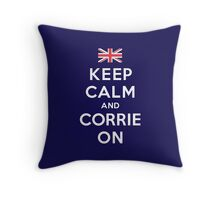 Corrie On Throw Pillow