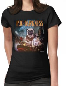 Pug of Darkness Womens Fitted T-Shirt