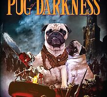 Pug of Darkness by darklordpug