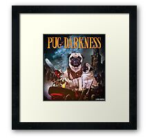 Pug of Darkness Framed Print