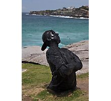 Youth  With Attitude,Sculptures By Sea,Australia 2015 Photographic Print