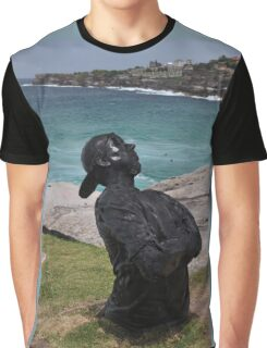 Youth  With Attitude,Sculptures By Sea,Australia 2015 Graphic T-Shirt