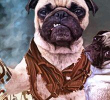 Pug of Darkness Sticker