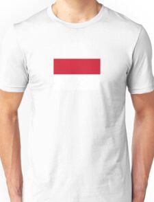 National flag of Indonesia Unisex T-Shirt