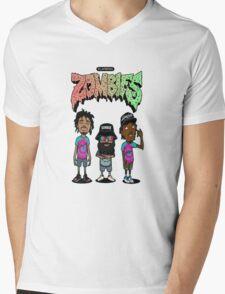 Flatbush Renegades Zombies Mens V-Neck T-Shirt