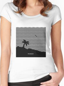 The neighborhood the Beach Women's Fitted Scoop T-Shirt