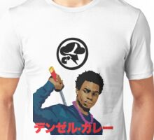 Denzel Black Samuri Curry Unisex T-Shirt