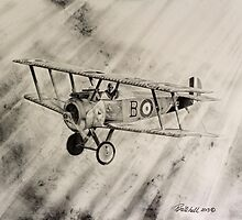 Sopwith Camel by Rob Mitchell
