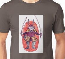 Rail the Samurai Cat Unisex T-Shirt