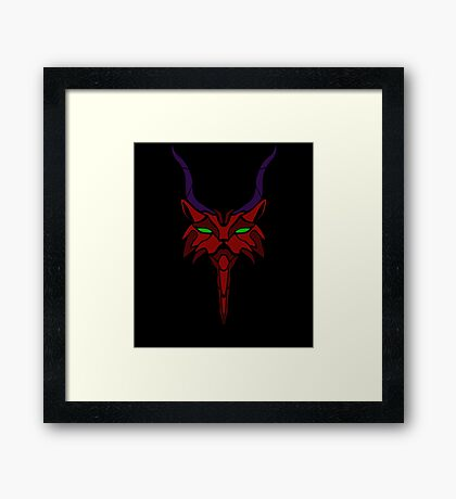 Red WildCat Framed Print