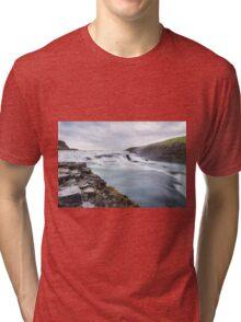 Forest Island Fall Nature Fine Art Photography 0039 Tri-blend T-Shirt