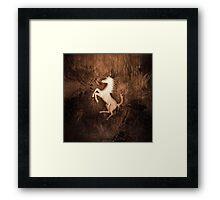 The Wild Horse Framed Print