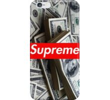 Money/Supreme iPhone Case/Skin