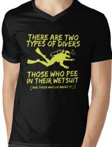 Scuba Diving T-Shirt Mens V-Neck T-Shirt