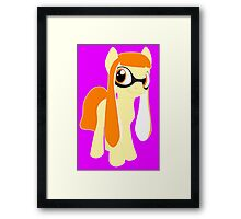 My Little Pony & Splatoon Framed Print