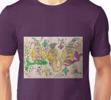 Mardi Gras Mermaids Unisex T-Shirt