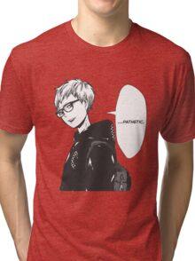 Tsukishima Kei Tri-blend T-Shirt