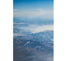 Aerial Mountain View Nature Fine Art Photography 0045 Photographic Print