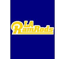 LA Ram Rods Podcast Modern Logo Photographic Print
