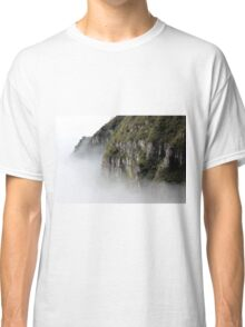 Cloudy Valley Mountain Forest Nature Fine Art Photography 0046 Classic T-Shirt