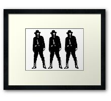 Mad, bad, and dangerous to know cubed Framed Print