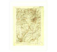 New York NY Saratoga Springs 129387 1934 24000 Art Print