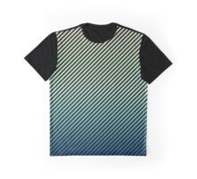 Daytime Fade | Black Stripes Graphic T-Shirt