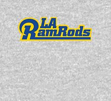 LA Ram Rods Podcast Modern Logo - Classic Blue Unisex T-Shirt