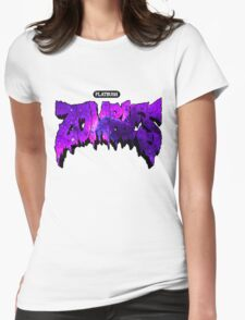 Flatbush Zombies Purple Galaxy Womens Fitted T-Shirt