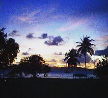 Caribbean Sunset by gigiturtle