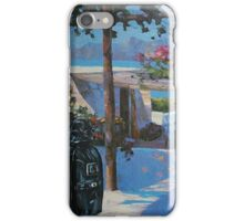 Darth vader in vacations iPhone Case/Skin