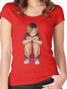 Kozume Kenma Women's Fitted Scoop T-Shirt