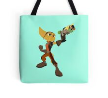 Ratchet With Blaster Tote Bag