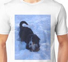 Nala in Snow Unisex T-Shirt