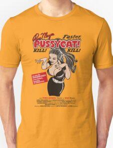 Faster, Pussycat! Kill! Kill! Vintage Movie Poster T-Shirt