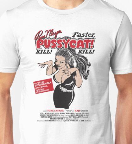 Faster, Pussycat! Kill! Kill! Vintage Movie Poster Unisex T-Shirt