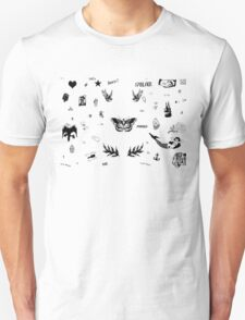 Harry Styles Tattoos (2016 updated) T-Shirt