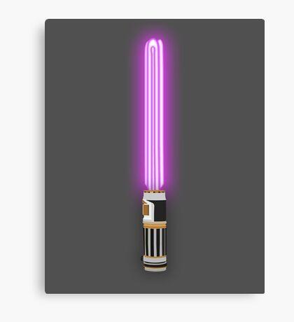 Star Wars - Mace Windu's Light 'Saver' Canvas Print
