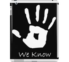 Skyrim Dark-brotherhood Black hand (WoB) iPad Case/Skin