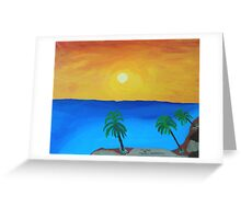 Fire Coast Greeting Card