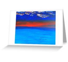 Open Ocean Greeting Card