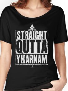 Straight Outta Yharnam Women's Relaxed Fit T-Shirt