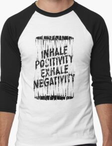 Inhale Exhale Men's Baseball ¾ T-Shirt