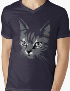 Cats Are Like Music Mens V-Neck T-Shirt
