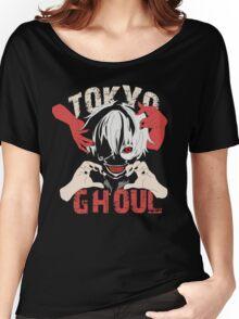 Tokyo Ghoul (Ken Kaneki), Anime Women's Relaxed Fit T-Shirt