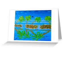 Open Places Greeting Card
