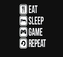 Gamer design:Eat, sleep, game, rapeat Unisex T-Shirt