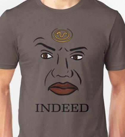 Teal'c Classic Eyebrow Raise Unisex T-Shirt